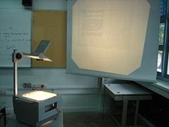 Transparent projecteur