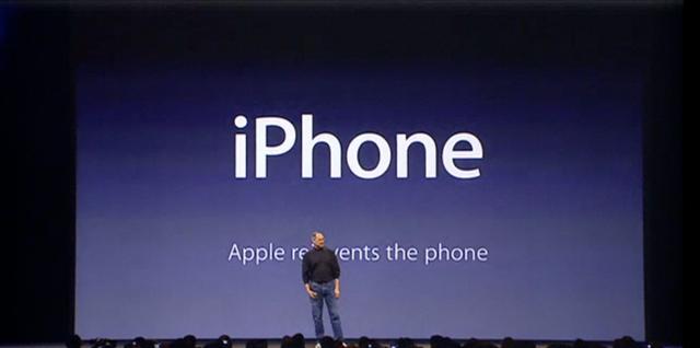 Présentation iPhone headline