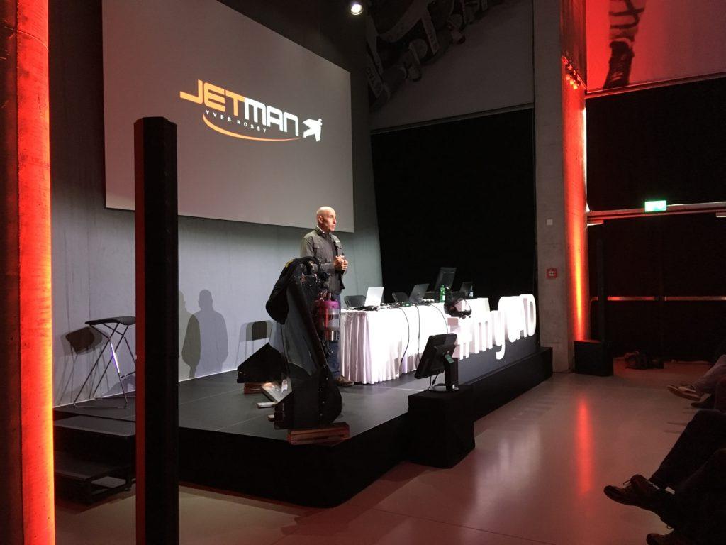 JetMan - Yves Rossi