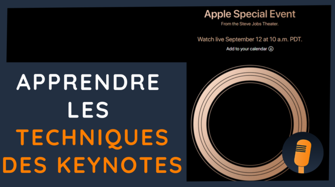 🎙 Keynote Apple Septembre 2018